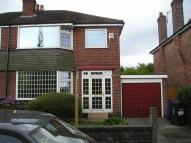 3 bed semi detached house to rent in Egerton Road South...