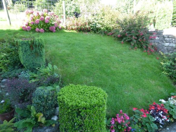 Lawn With Flower Border