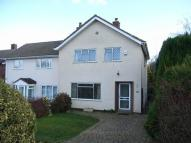3 bed semi detached house in Blackberry Lane...