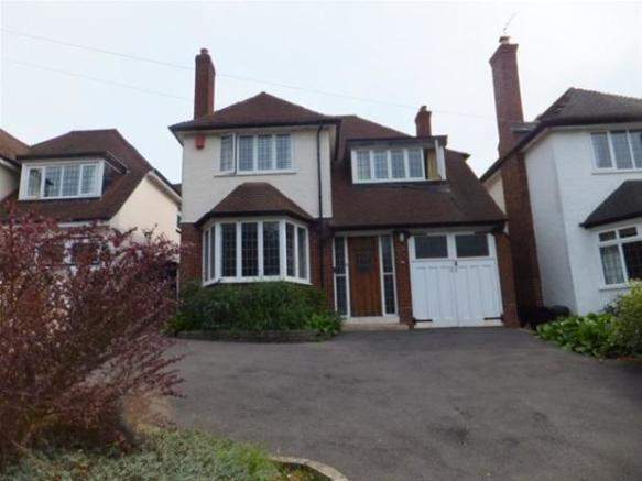 3 bedroom detached house for sale in tamworth road sutton coldfield b75