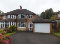 semi detached property for sale in Antrobus Road, Boldmere...
