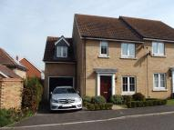 semi detached house for sale in Quail Close, Stowmarket...