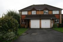 semi detached house in Parkstone Close...