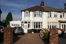 3 bedroom semi detached home in Welbourne Road...