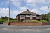 Oakwood Road semi detached house to rent