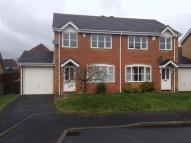 3 bed semi detached home in Bush Close, Telford