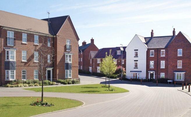 Street scene at Meadow Grange