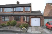 semi detached home in Selkirk Drive, Eccleston...