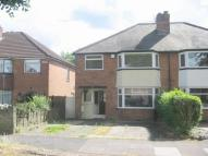 semi detached home in Mavis Road, Birmingham...