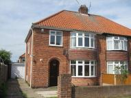 semi detached house to rent in BROOME CLOSE, HUNTINGTON
