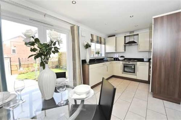 3 bedroom semi detached house for sale in the hanbury for Kitchen ideas 3 bed semi