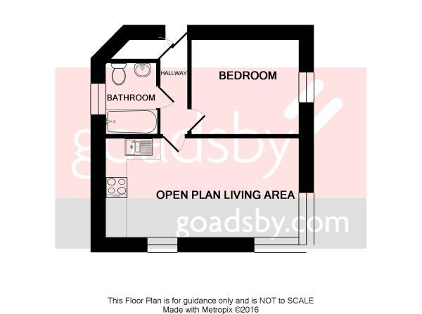 Floorplan - 1 Bedroo