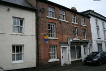 Terraced property in Market Street, Llanfyllin
