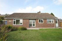 School Lane Detached Bungalow to rent