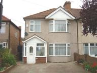 semi detached home in Francis Road...
