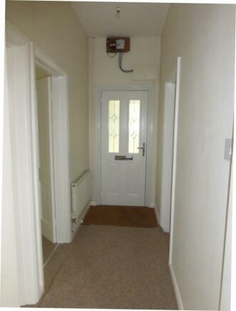 Looking towards front door