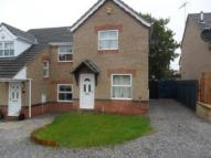 2 bed semi detached house to rent in Nursery Drive, Bolsover...