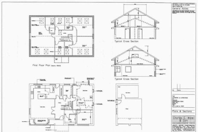 Proposed 1st floor extension