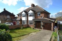 3 bed semi detached property in Ashtons Lane, Baldock...
