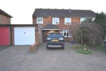 4 bed semi detached property in Moss Way, Hitchin...