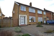 semi detached house in Manton Road, Hitchin...