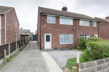 semi detached property in Moor View Road, Staveley