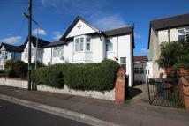 Bishops Road semi detached house for sale