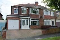 4 bedroom semi detached property in Braemar Road...