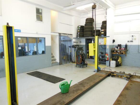 Ground Floor Garage/