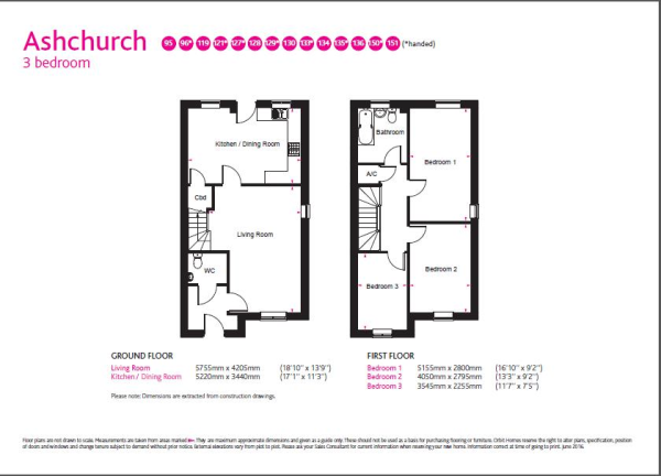 ashchurch floor plan
