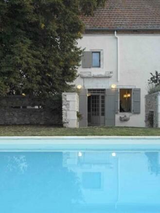 Pool & kitchen door