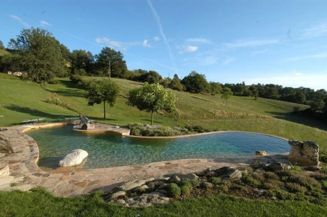 Pool and pasture