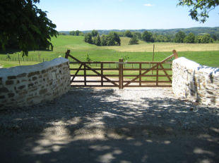 Entrance gates/view