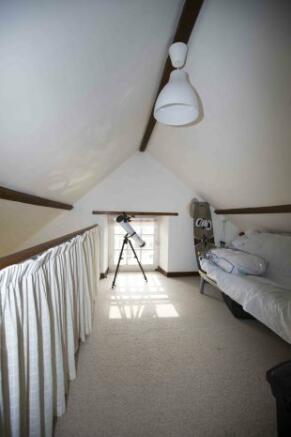 Mezzanine bedroom/of