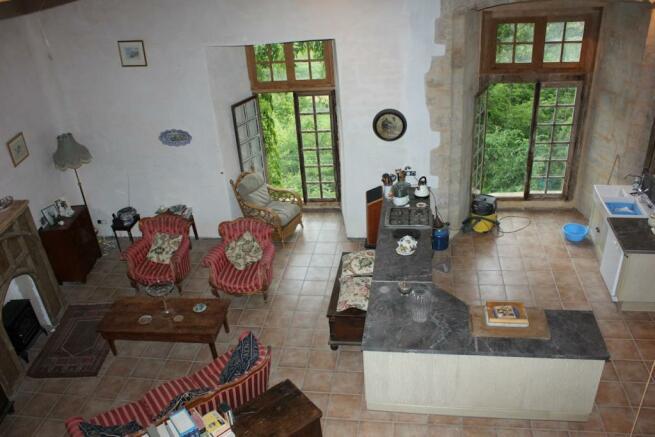 Interior from mezzan