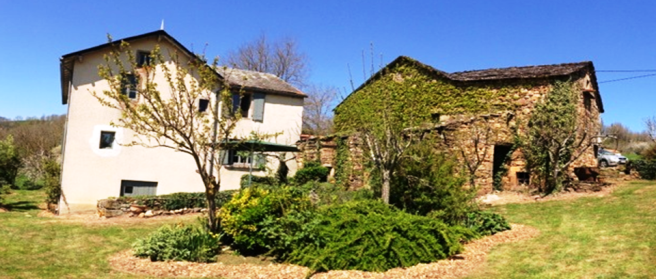 House and barn