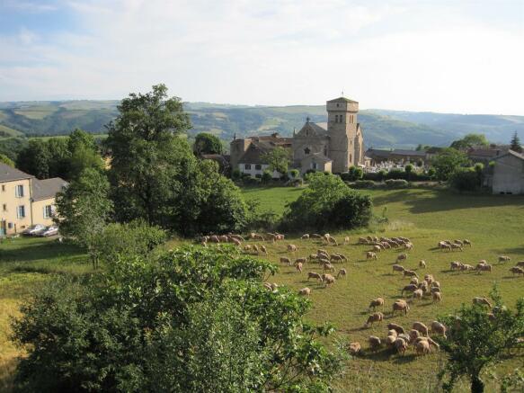 The village & church