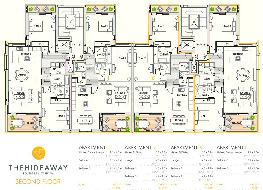 The Hideaway - Floorplan - Second Floor.pdf