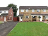 2 bed semi detached home for sale in High Close, Nelson