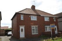 semi detached home in Emerson Road, Hurworth...