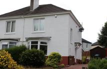 2 bedroom semi detached house in Kirkton Avenue, Glasgow...