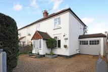 3 bedroom semi detached home in Oxshott