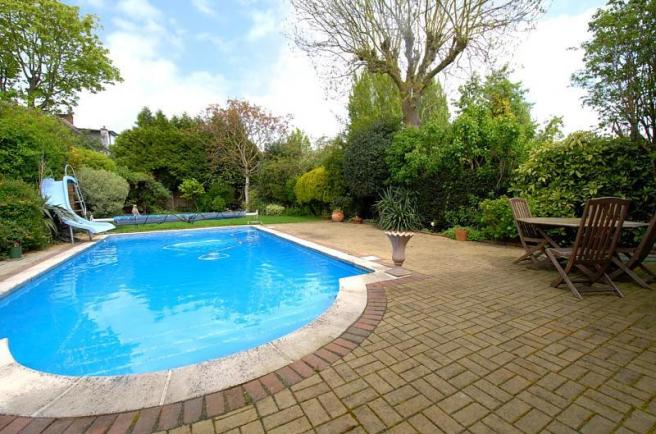 Garden/swimming Pool