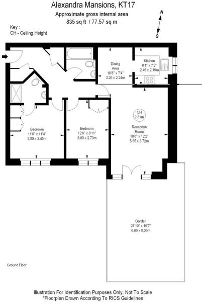 For Sale - 2 bed fla