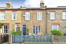 Terraced house in Bemish Road, Putney...
