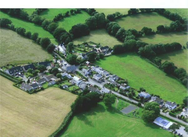 Village Aerial Shot