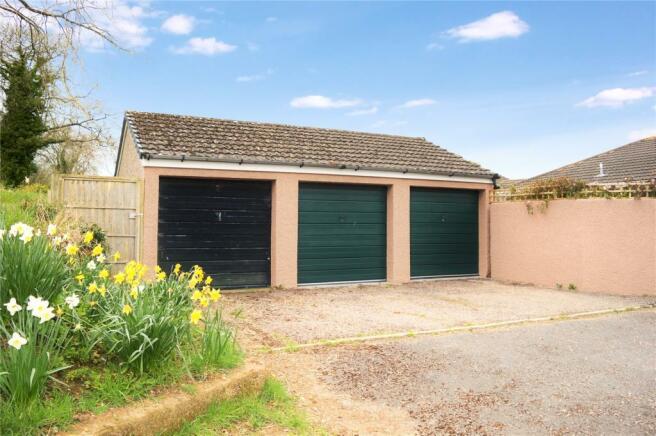 Garages-Green Doors