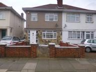 Kingshill Avenue semi detached property to rent