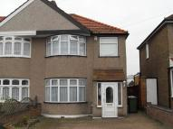 semi detached house to rent in Lamorbey Close, Sidcup...