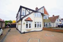 semi detached house in Chaucer Road, Sidcup...
